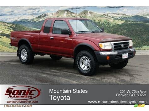 2000 Toyota Tacoma 4x4 2000 Toyota Tacoma V6 Trd Extended Cab 4x4 In Sunfire