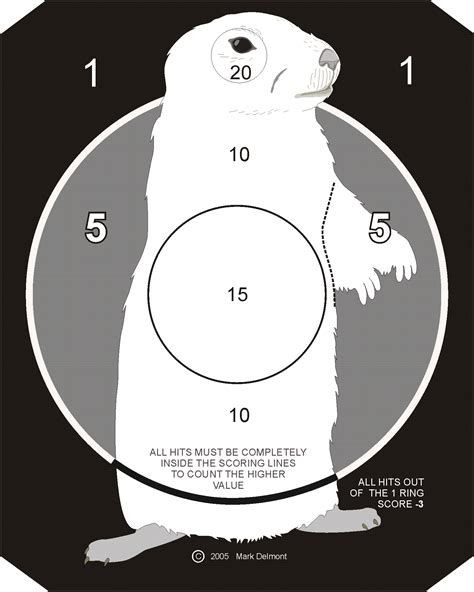 printable prairie dog targets printable 8 x 11 shooting targets search results