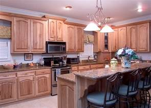 Hickory Wood Cabinets Kitchens by Hickory Kitchens Wood Hollow Cabinets