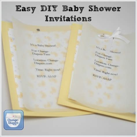 Baby Shower Invitations Diy by Printable Cloth Baby Shower Invitations Diy