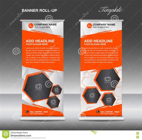 roll up stand design templates roll up banner stands flat design templates abstract