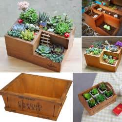 popular wooden box planters buy cheap wooden box planters