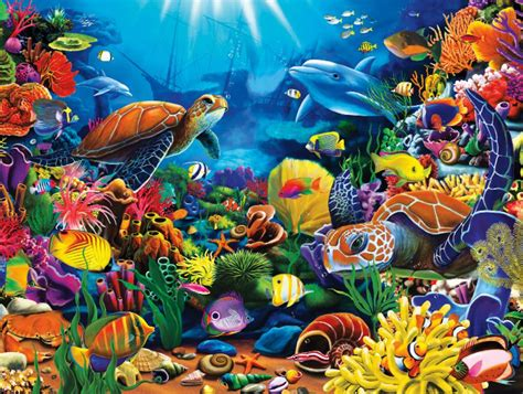 Puzzle Sea sea of 1500 puzzles jigsaw puzzle