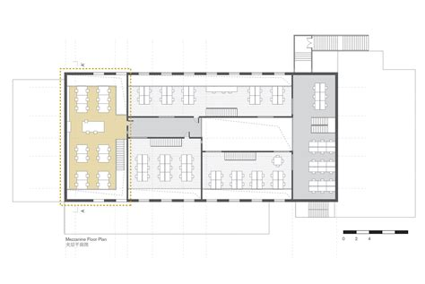 mezzanine floor plan gallery of crossboundaries new office crossboundaries 16