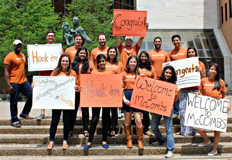 Mccombs Clubs Mba by Calling All Mccombs Applicants 2015 Intake Class Of