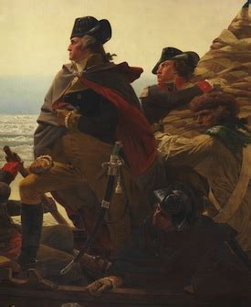 george washington painting boat leutze washington crossing the delaware romanticism in