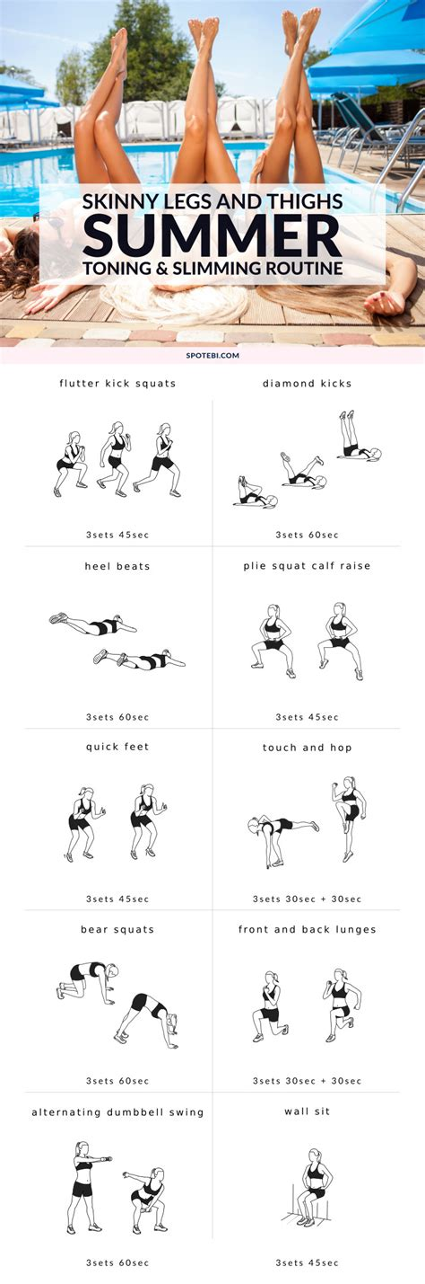 7 Steps To Getting A Leaner This Summer by Image Gallery Lean Legs Workout