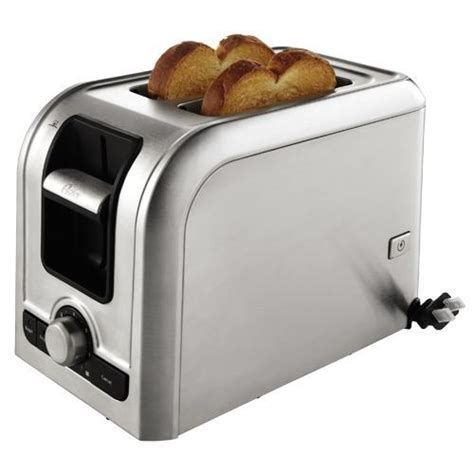 Toaster For Large Bread Oster Tsstrts2s2 2 Slice Toaster With Retractable Cord
