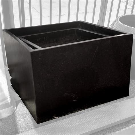 Modern Planters Los Angeles by Modern Touch Design Los Angeles Planter 01 27 6 In