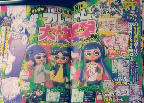 Komik Story From The Past 1 5 splatoon 2 fanbook guide splatoon amino