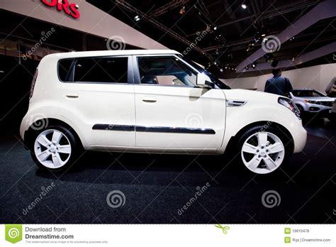 White Kia Car White Car Kia Soul Editorial Stock Photo Image 19610478