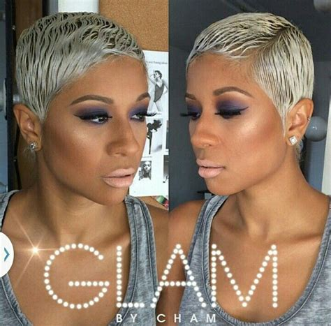 edgy pixie brown with blonde highlights 386 best images about brown skin blonde hair on pinterest