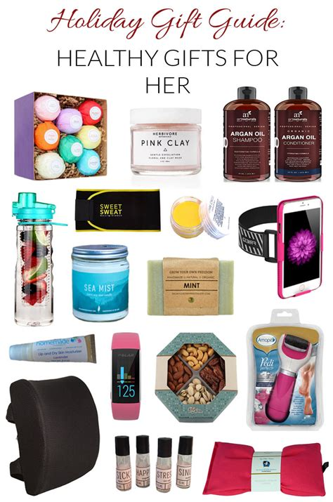 Gift Ideas For My - healthy gift ideas for enjoy health