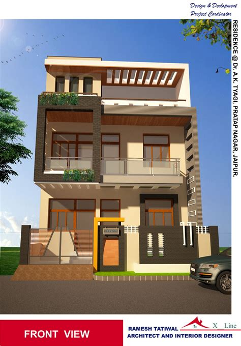 architect design homes housedesigns modern indian home architecture design from