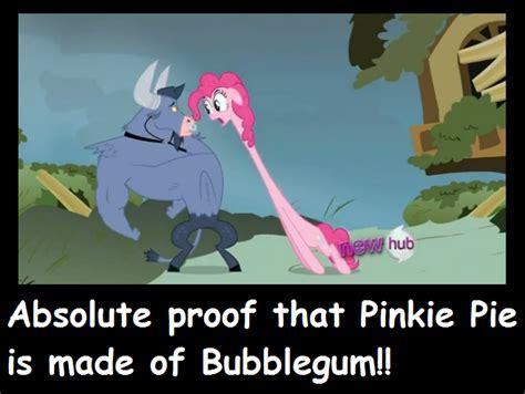 Pinkie Pie Meme - pinkie pie bubblegum meme by hewytoonmore on deviantart