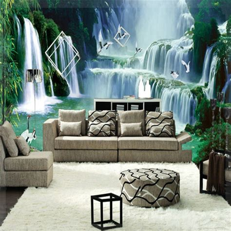 Wallpaper Custom Lukisan Pohon gambar pemandangan alam wallpaper custom 3d pohon 001 003