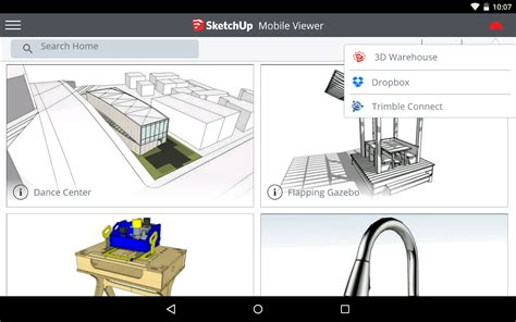 sketchup mobile sketchup mobile viewer 3 0 1 apk android