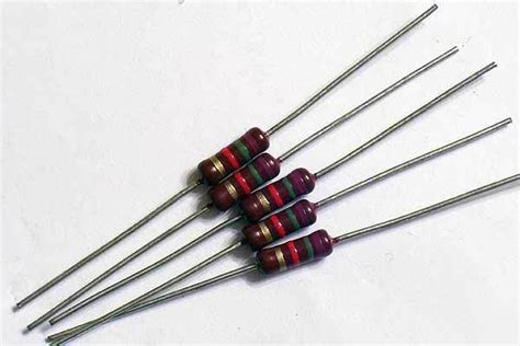 piher resistors 25 7 5k ohm 1 2w piher hi q carbon resistors 5