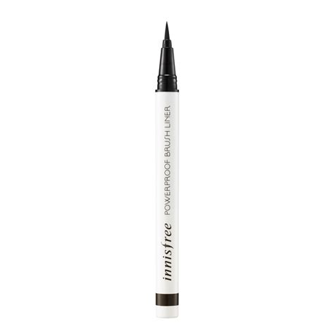 Innisfree Powerproof Brush Liner Black 13 make up products that are for summer pool