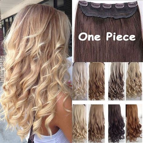 real human hair extensions real thick 1pcs clip in 3 4 full head hair extensions