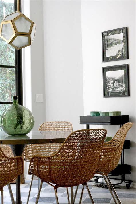 Wicker Dining Room Furniture by Best 25 Wicker Dining Chairs Ideas On Wicker