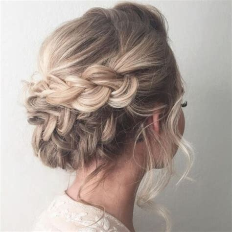 plaited hairstyles for short hair 50 prom hairstyles for short hair hair motive hair motive