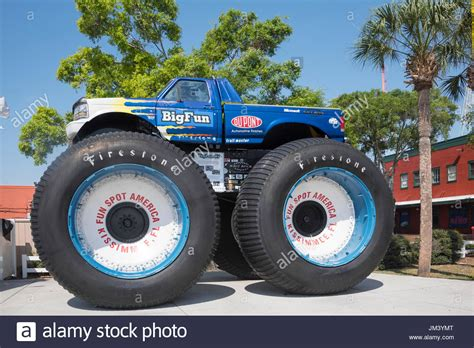 biggest bigfoot monster truck big foot monster truck fun spot usa kissimmee florida