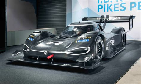 volkswagen supercar volkswagen i d r pikes peak electric supercar revealed