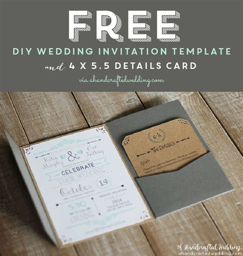diy printable wedding invitation templates free printable wedding invitation template free