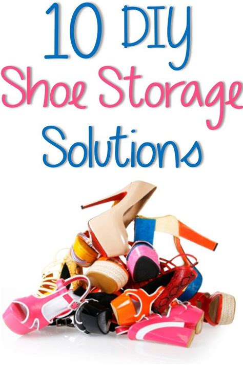5 creative diy shoe storage solutions do it yourself best 25 shoe storage solutions ideas on shoe