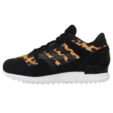 adidas originals zx 700 w black leopard cheetah 2014 womens run casual shoes ebay