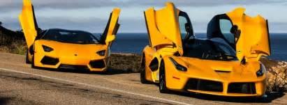 La Vs Aventador Laferrari Vs Lamborghini Aventador Www Imgkid