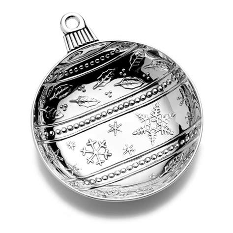 mikasa ornaments mikasa dish ornament silverplate
