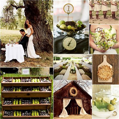 Country Fall Wedding Ideas Photograph   country wedding gree
