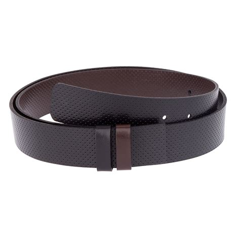 reversible belt golf belts for perforated