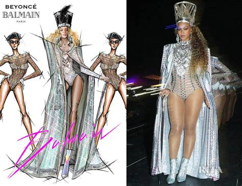 Who Wore Better Carpet Style Awards 2 by Beyonce Knowles Wore Five More Custom Balmain Looks During