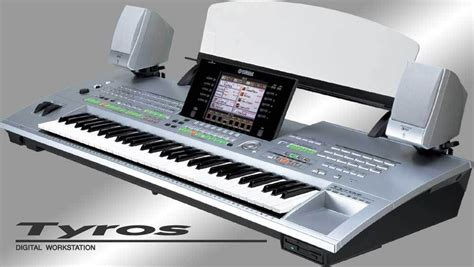 Keyboard Yamaha Tyros 3 the original yamaha tyros 1 including ms01 speaker system epianos