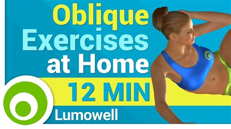 oblique exercises at home