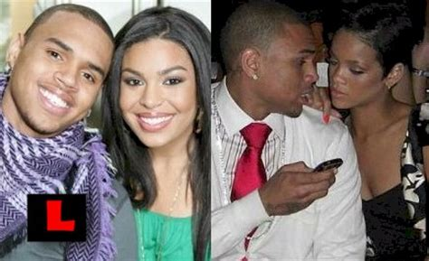 Jordin Sparks And Chris Brown On The Set Of No Air by Chris Breezy Jordin Sparks No Air No