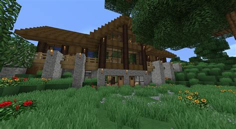 minecraft survival house designs minecraft survival house 02 minecraft wallpapers minecraft survival house free