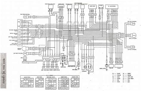 honda wave 125i wiring diagram k
