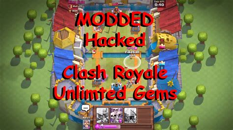 clash of hacked apk apk clash royale 1 3 2 modded apk unlimited gems and gold gammerson