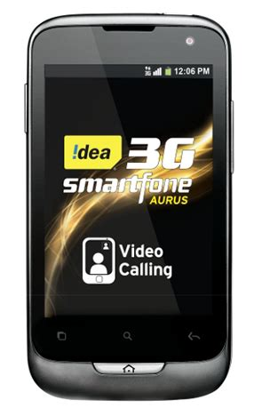idea unveils dual sim 3g android smartphone for rs. 7,190