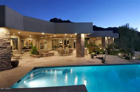 modern luxury homes sin vacas contemporary sells for 1 4 million tucson