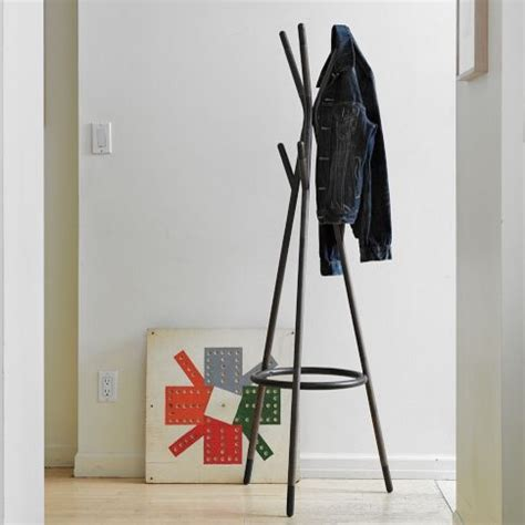 metal tipped coat rack home lilys design ideas