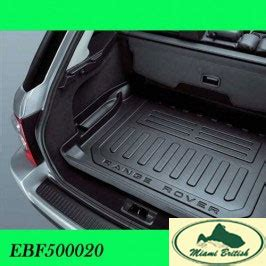 Miami Rubber Upholstery by Land Rover Rubber Cargo Load Compartment Range Sport