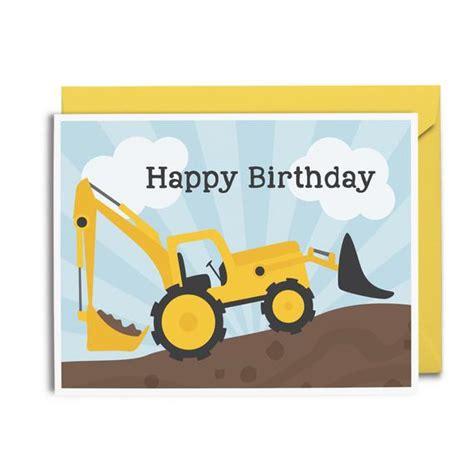 Construction Birthday Card construction birthday card happy birthday by