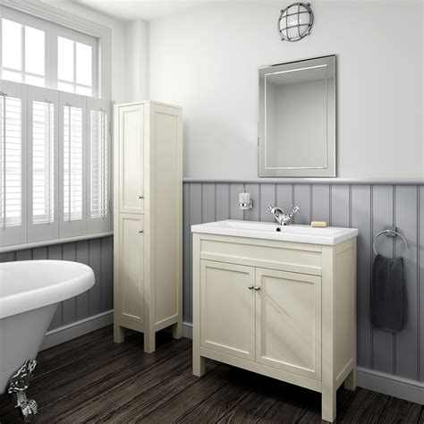 Traditional Bathroom Furniture Uk 800mm Traditional Bathroom Furniture Storage Vanity Unit Basin Sink Mv1003 Ebay