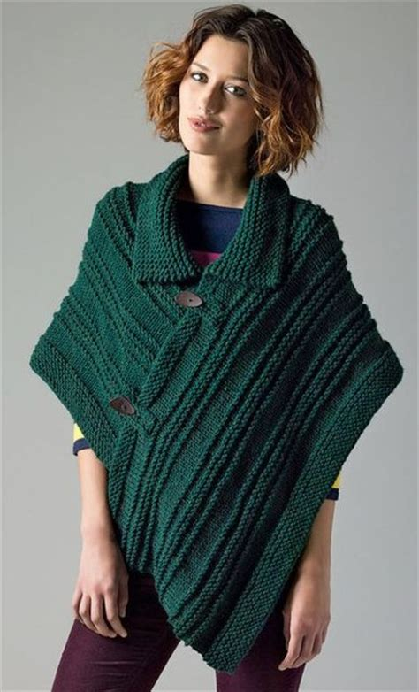 poncho free knitting pattern poncho knitting patterns in the loop knitting