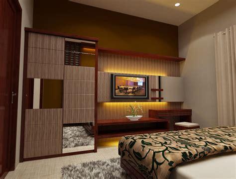 desain interior kamar tidur modern rumah minimalis